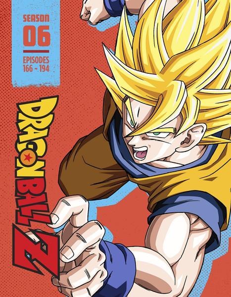 Dragon Ball Z Season 6 Steelbook Blu-ray
