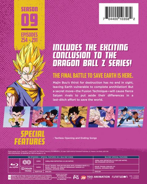 Dragon Ball Z Season 9 Steelbook Blu-ray