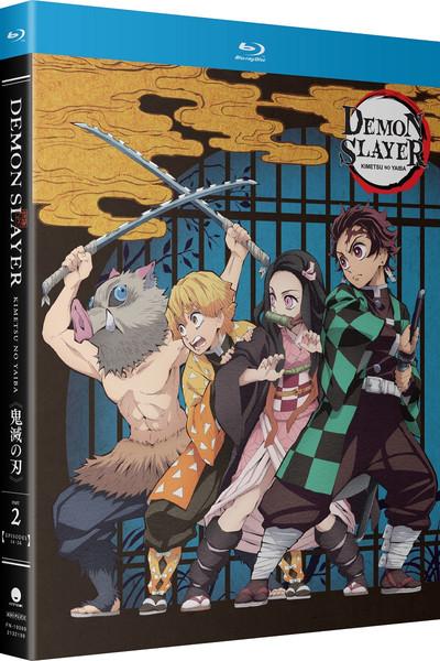Demon Slayer Kimetsu no Yaiba Part 2 Standard Edition Blu-ray