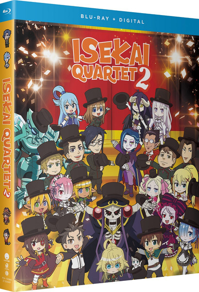Isekai Quartet2 Season 2 Blu-ray