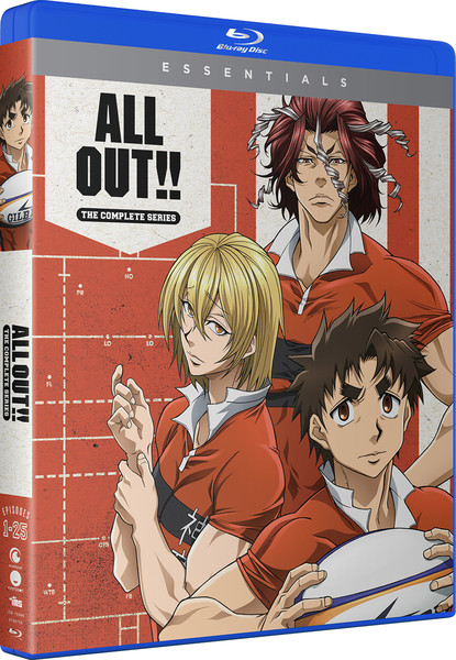 ALL OUT!! Complete Series Essentials Blu-ray