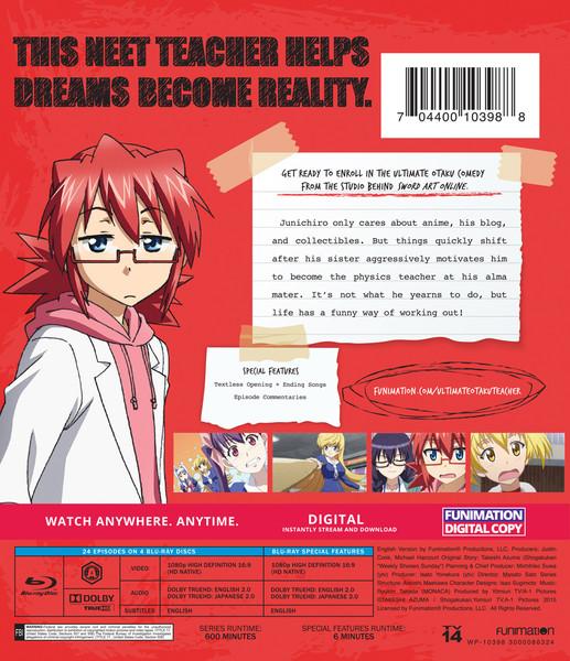 Ultimate Otaku Teacher Complete Series Essentials Blu-ray