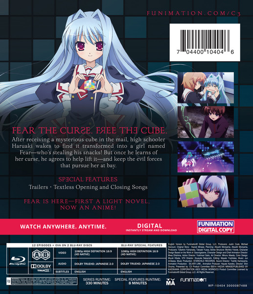 C3 Complete Series + OVA Essentials Blu-ray