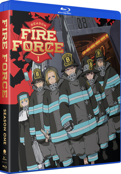 Fire Force Season 1 Complete Collection Blu-ray