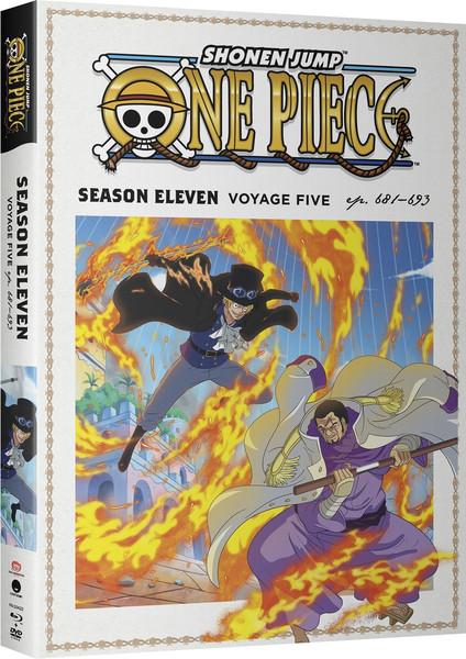 One Piece Season 11 Part 5 Blu-ray/DVD