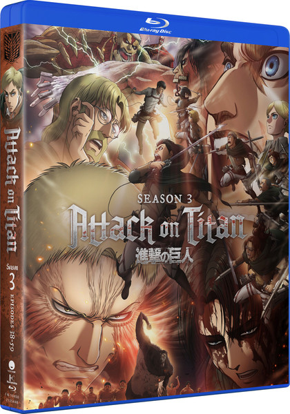 Attack On Titan Season 3 Complete Collection Blu-ray
