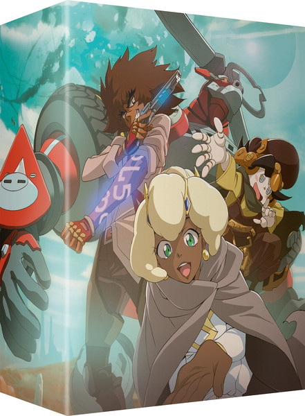 Cannon Busters Limited Edition Blu-ray/DVD