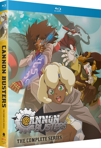 Cannon Busters Blu-ray