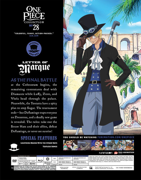 One Piece Collection 28 Blu-ray/DVD