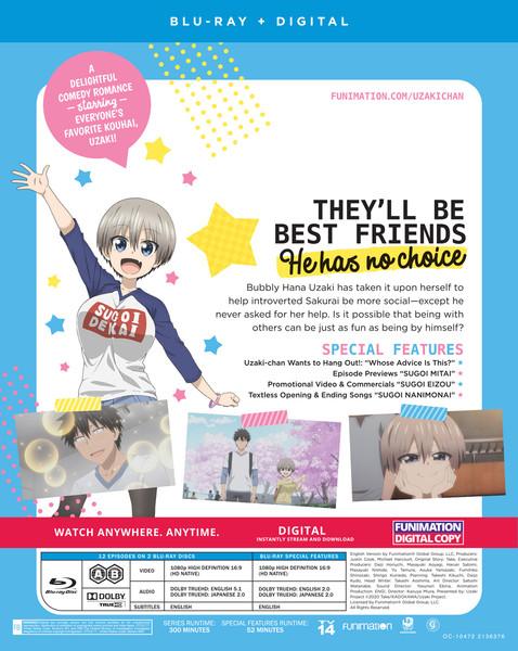 Uzaki-chan Wants to Hang Out! Blu-ray