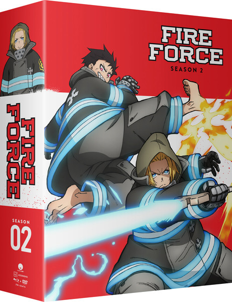 Fire Force Season 2 Part 2 Limited Edition Blu-ray/DVD