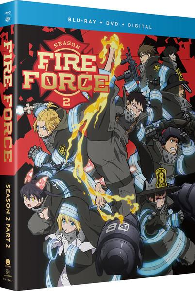 Fire Force Season 2 Part 2 Blu-ray/DVD