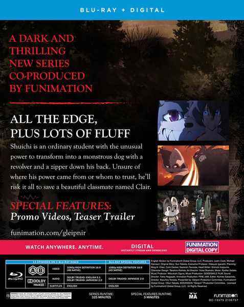 Gleipnir Season 1 Blu-ray