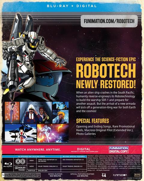 Robotech Part 1 The Macross Saga Blu-ray