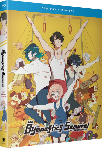 The Gymnastics Samurai Blu-ray