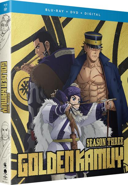 Golden Kamuy Season 3 Blu-ray/DVD