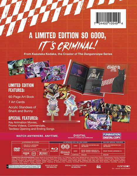 Akudama Drive Limited Edition Blu-Ray/DVD