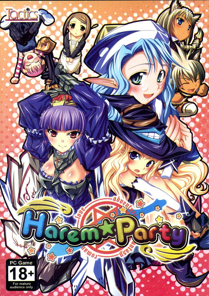 Harem Party DVD-ROM Game (Windows)