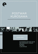Postwar Kurosawa DVD