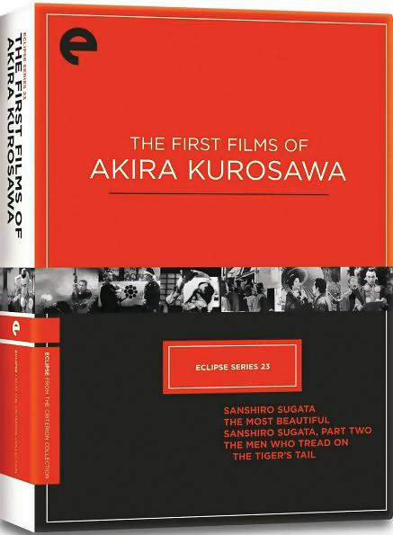 The First Films of Akira Kurosawa DVD Set 715515062619