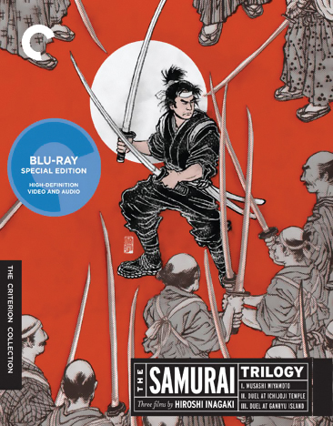 The Samurai Trilogy Blu-ray 715515092913