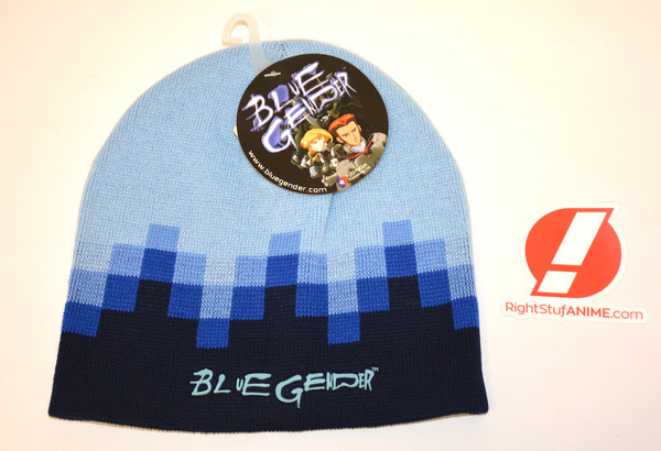 Blue Cube Blue Gender Knit Steep Cap