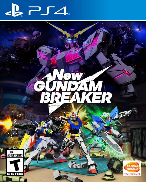 New Gundam Breaker PS4 Game