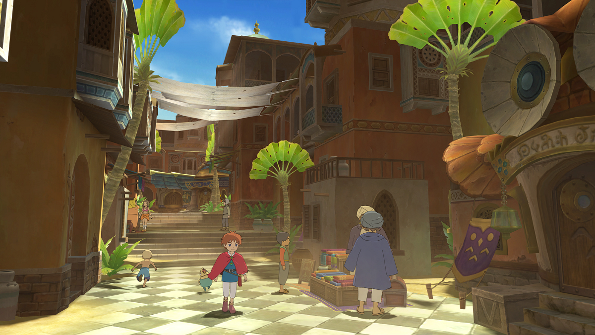 Ni no Kuni Wrath of the White Witch Remastered PS4 Game