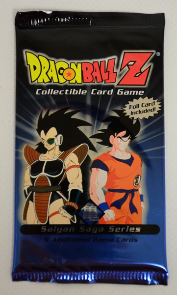 Dragon Ball Z Trading Card Game: Saiyan Saga Booster Pack