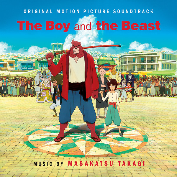 The Boy and the Beast Original Motion Picture Soundtrack CD