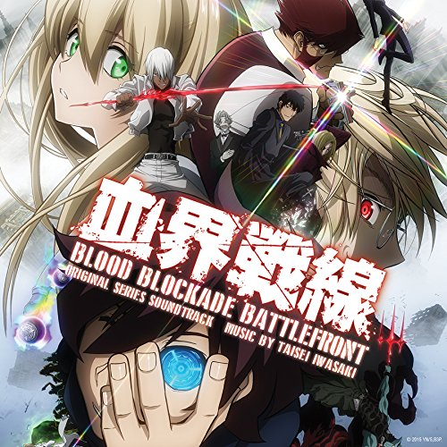 Blood Blockade Battlefront Original Series Soundtrack CD 731383678929