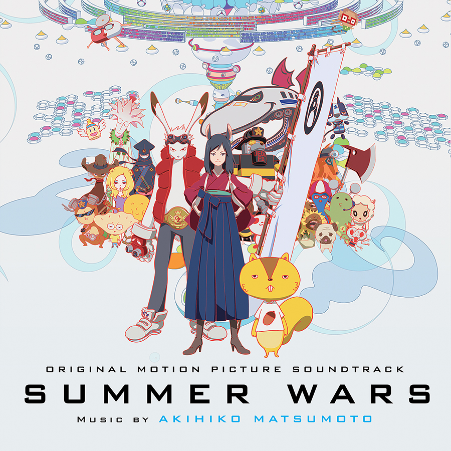 Summer Wars Original Motion Picture Soundtrack CD 731383680823