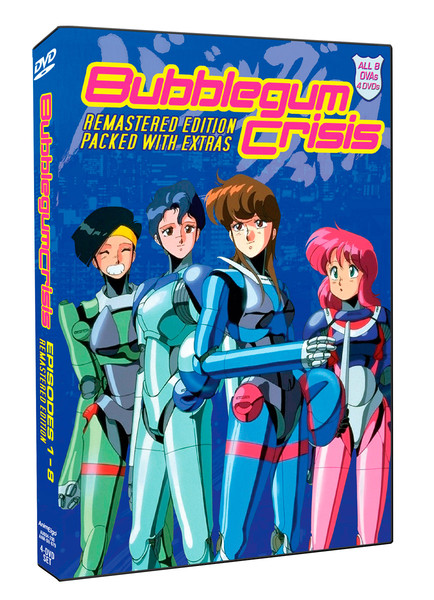Bubblegum Crisis Box Set DVD Remastered