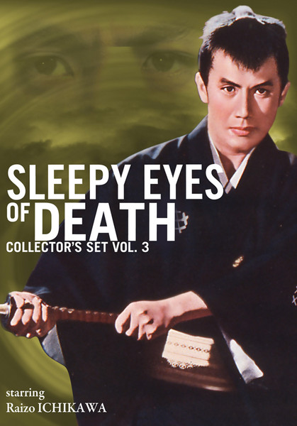 Sleepy Eyes of Death Collector's Set 3 DVD LiveAction