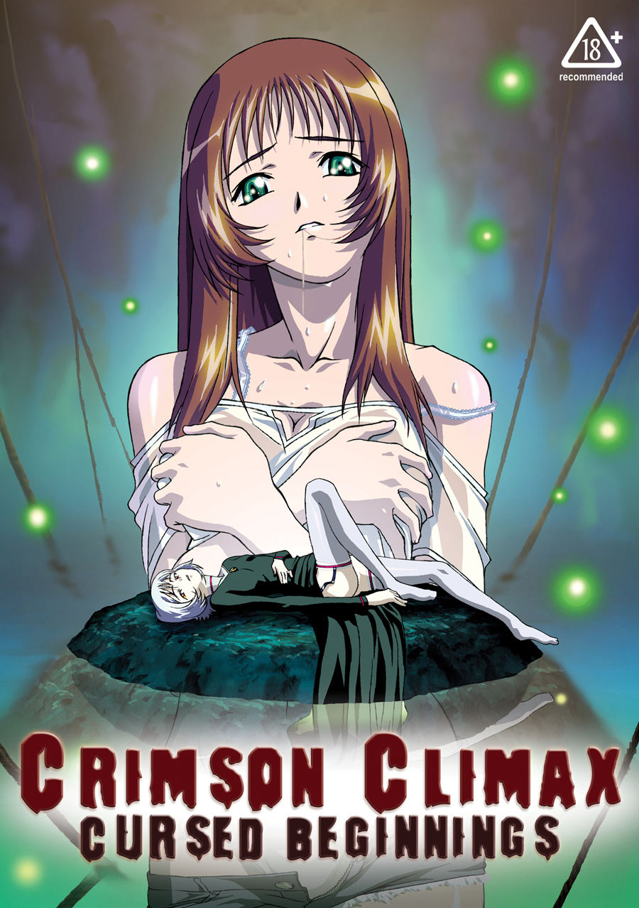 Crimson Climax Cursed Beginnings DVD Adult 742617091520