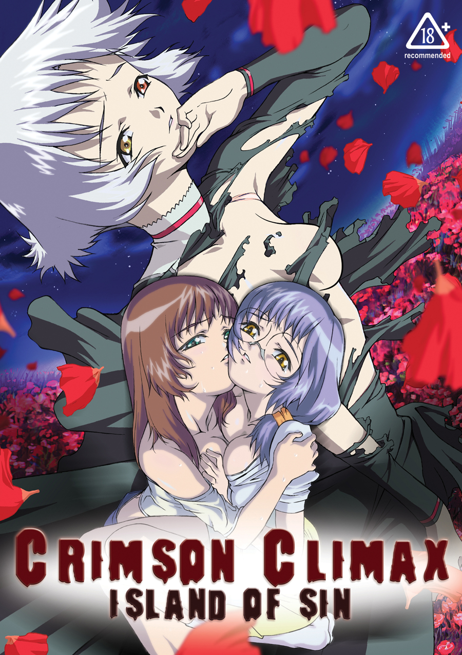 Crimson Climax Island of Sin DVD Adult 742617091827