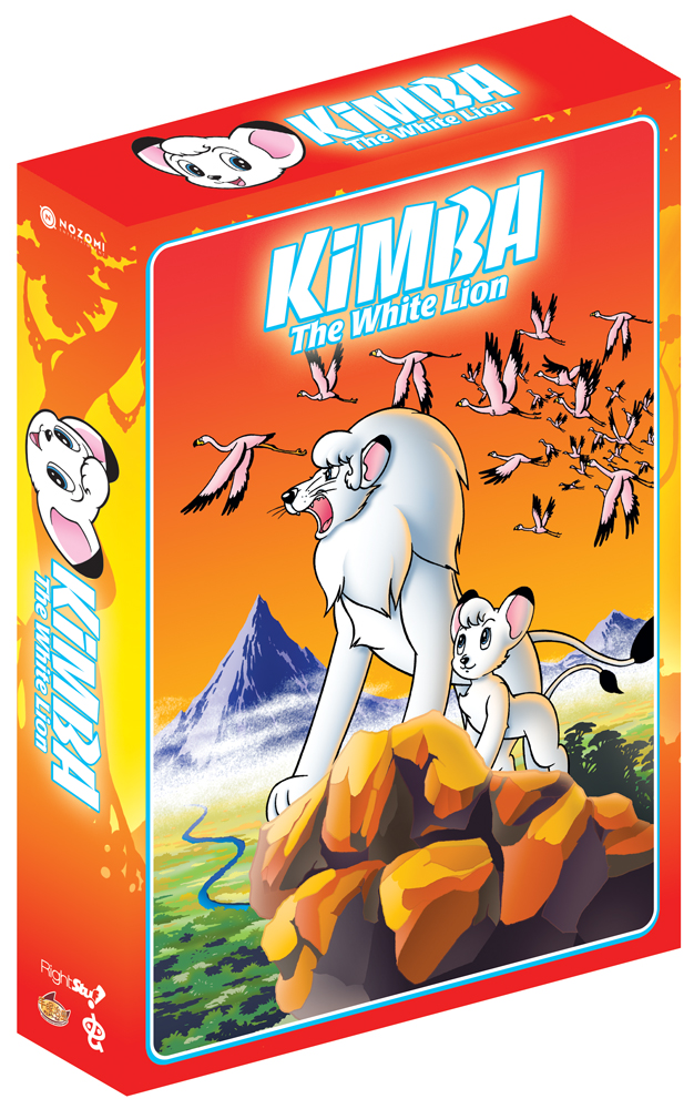 Kimba The White Lion DVD Box Set