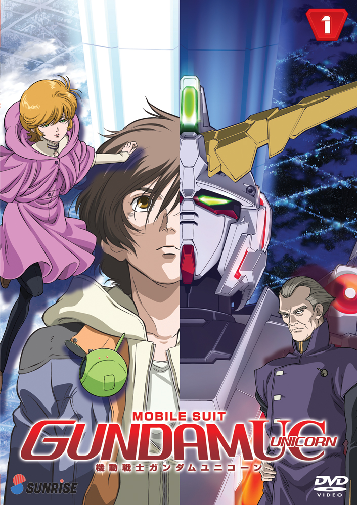 Mobile Suit Gundam UC (Unicorn) DVD Part 1