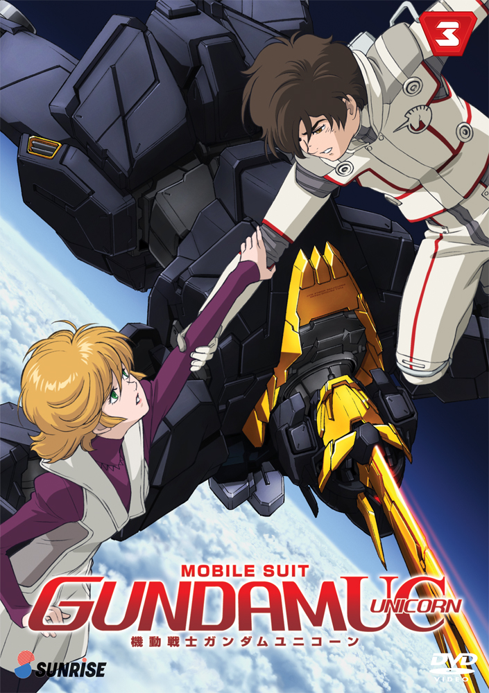 Mobile Suit Gundam UC (Unicorn) DVD Part 3 742617139628