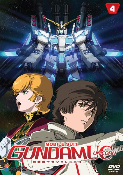 Mobile Suit Gundam UC (Unicorn) DVD Part 4