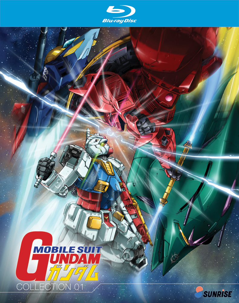 Mobile Suit Gundam Part 1 Bluray