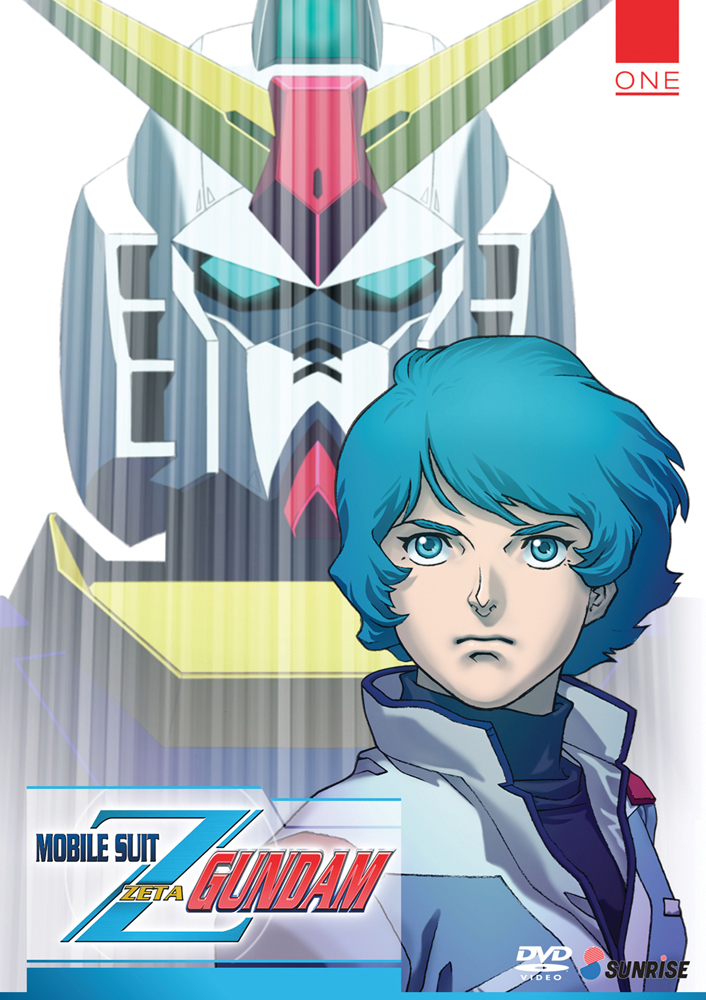 Mobile Suit Zeta Gundam Collection 1 DVD 742617162824