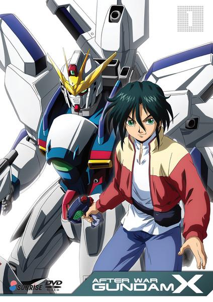 After War Gundam X Collection 1 DVD