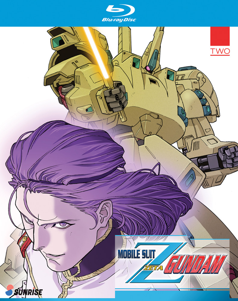 Mobile Suit Zeta Gundam Collection 2 Blu-ray 742617163623
