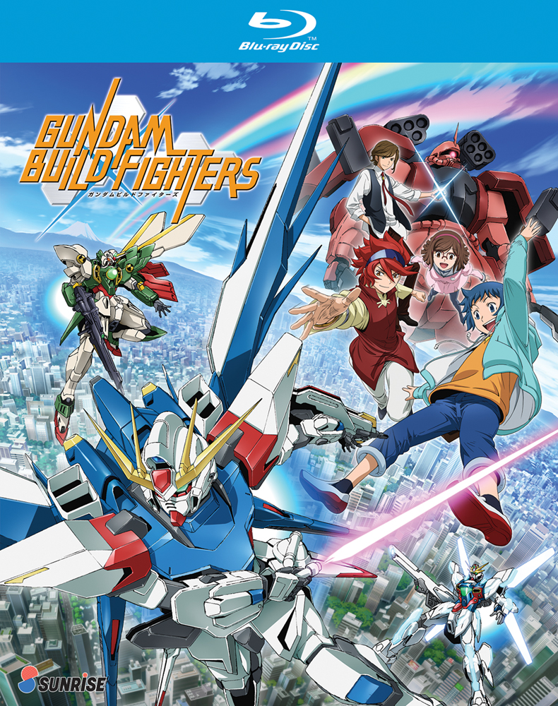 Gundam Build Fighters Blu-ray 742617165023