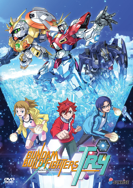 Gundam Build Fighters Try DVD