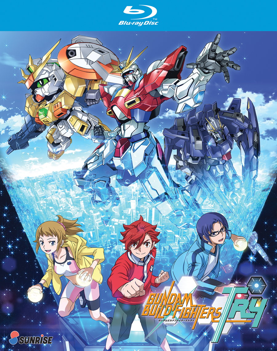 Gundam Build Fighters Try Blu-ray 742617165627