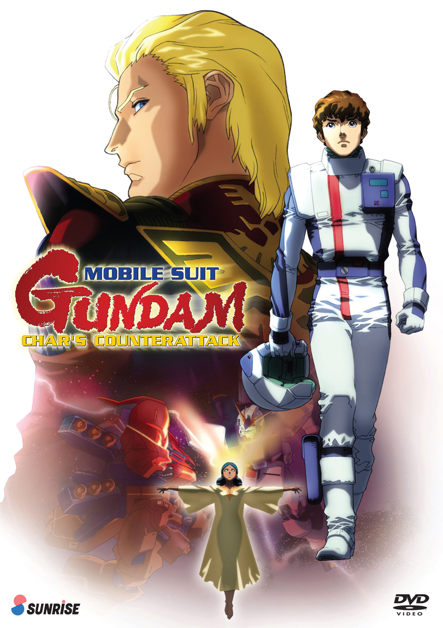 Mobile Suit Gundam Char's Counterattack DVD 742617165825