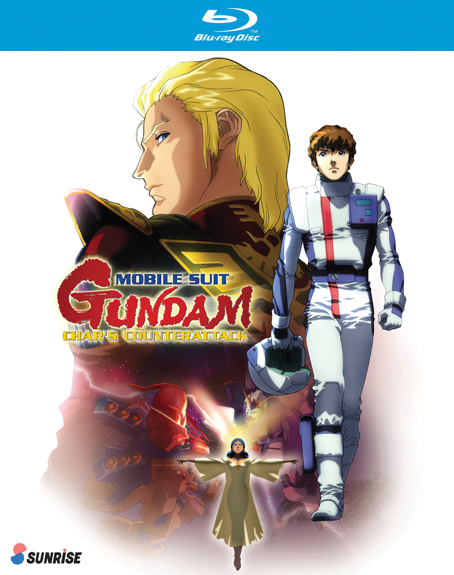 Mobile Suit Gundam Char's Counterattack Blu-ray 742617166020