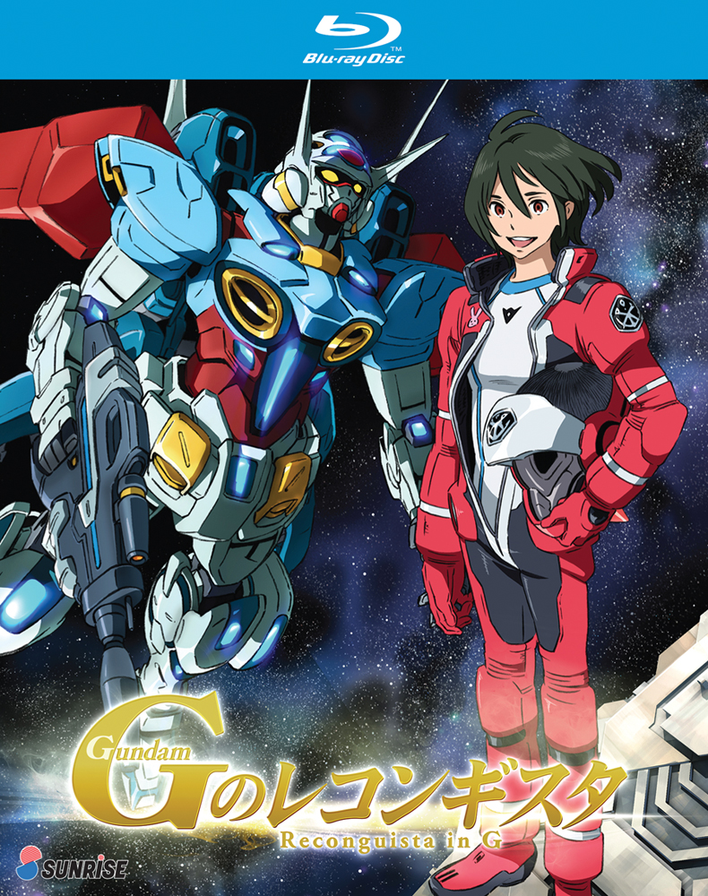Gundam Reconguista in G Blu-ray 742617166624